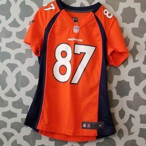 Eric Decker number 87 denver Broncos Jersey